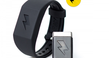 Pavlok Shock Clock; a Wearable Alarm Clock that Jolts You Out of Bed with Electric Shock