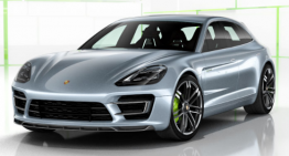 Second Edition of the Porsche Panamera Sport Turismo is out as a Wagon