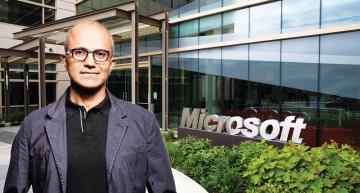 Microsoft becomes second largest company after Amazon shares tumble