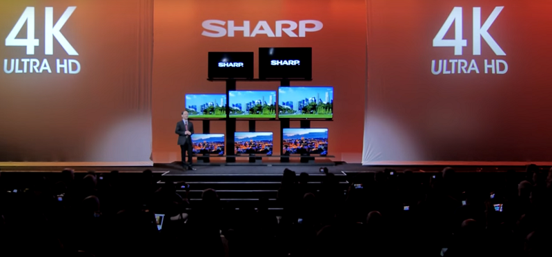 Sharp at CES 2016