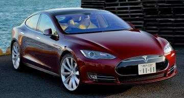 Elon Musk shares the First Look of the Affordable Tesla Model 3