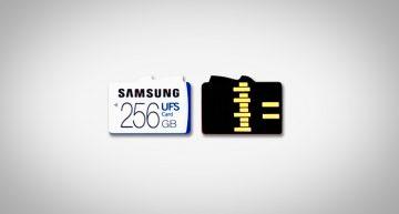 Samsung Unveils World's First Universal Flash Storage (UFS) 256GB Memory Card