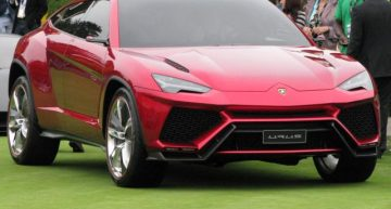 Upcoming Lamborghini Urus SUV will be a Plug-in Hybrid