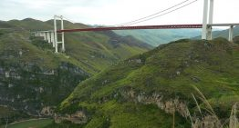 China Launched the World's Highest Bridge Once Again