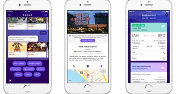 Yahoo Radar App's Virtual Assistant Travel Agent is Kind of Cute