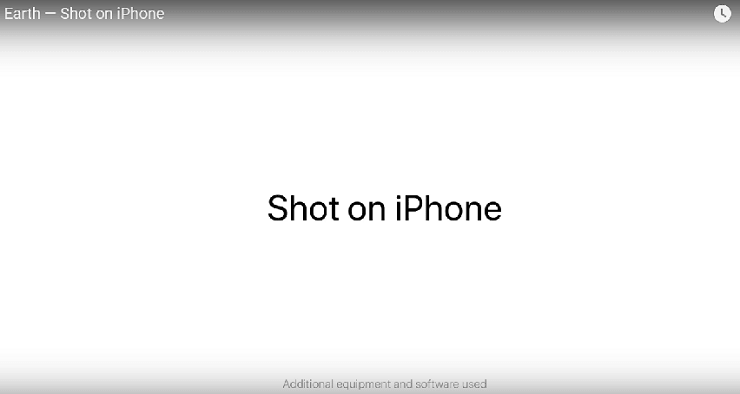 apple iphone ad