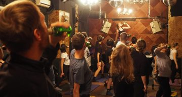 Beer Yoga is here…and it's not so brewtiful