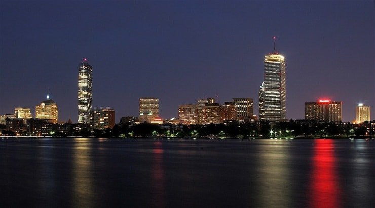 boston in cities with highest salaries