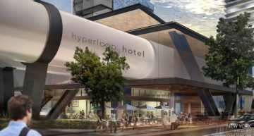 Luxury Luminary Designs Futuristic Hotel Concept Based on Hyperloop One