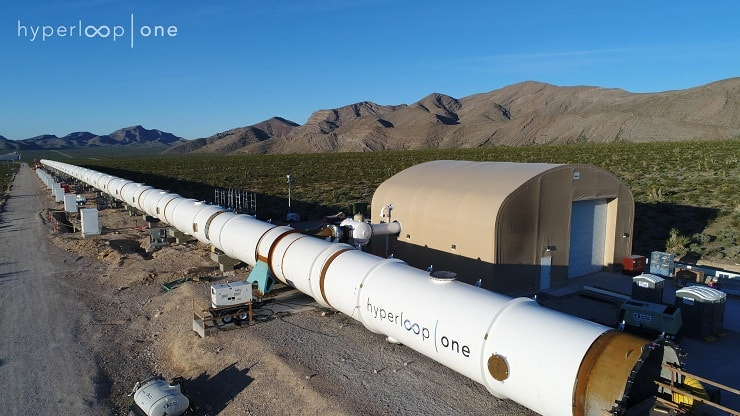 hyperloop one highlights european routes
