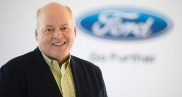 You Either Get Better or Worse, says Jim Hackett, Ford's New CEO