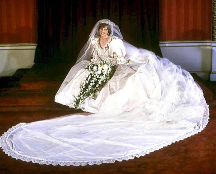 Wedding dress of Princess Diana