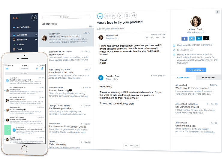 polymail productivity apps