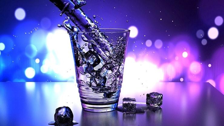 premium bottled water