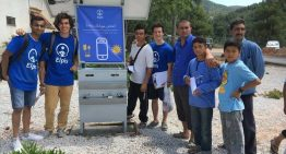Solar-Powered Charging Stations Provide Free Electricity to Migrants in Greece
