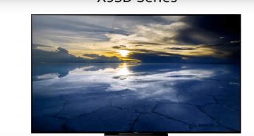Sony X93D Series: Pursuing more immersive and realistic visuals by collaborating two best Sony's feature- HDR with 4K picture.