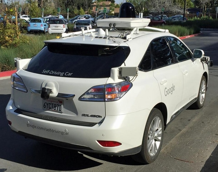 waymo car by google alphabet