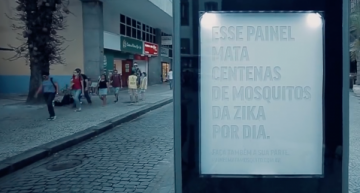 Brazilian Ad Agencies Create Revolutionary Billboard that Entrap Zika-Carrying Mosquitoes